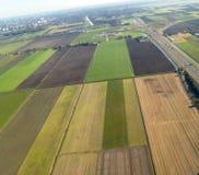 Vista dall'aereo fotografia stock libera da diritti