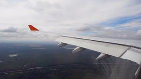 Vista dall'aeroplano video d archivio