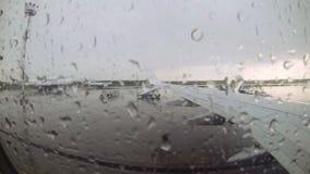 Vista dall'aeroplano archivi video