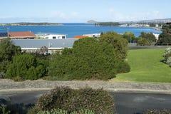 Vista dall'allerta della collina di Kleinig, Victor Harbor Immagini Stock