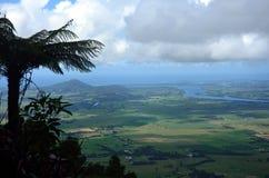 Vista dall'allerta della montagna di Cambewarra Fotografie Stock Libere da Diritti