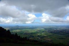 Vista dall'allerta della montagna di Cambewarra Immagine Stock Libera da Diritti