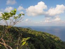Vista dall'allerta di Margaret Knoll, isola di Natale, Australia Fotografie Stock Libere da Diritti