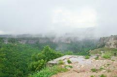 Vista dall'alpe della montagna Immagine Stock
