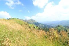 Vista dall'alta montagna Fotografia Stock Libera da Diritti