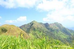 Vista dall'alta montagna Immagine Stock Libera da Diritti