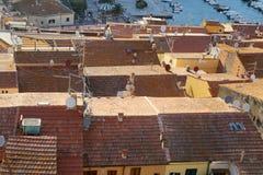 Vista dall alto di Porto Santo Stefano - Grosseto Royalty Free Stock Photography