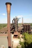 Vista dall'altoforno Fotografie Stock