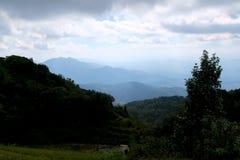 Vista dall'più alta cima della Tailandia Fotografia Stock