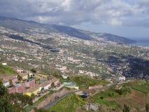 Vista dall'più alta scogliera di Cabo Girao Madera Immagini Stock Libere da Diritti