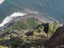 Vista dall'più alta scogliera di Cabo Girao Madera Immagine Stock Libera da Diritti