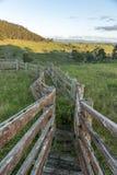 Vista dalla città della campagna di Lithgow in NSW Australia Fotografie Stock