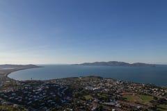 Vista dalla collina del castello a Townsville, Australia Immagini Stock