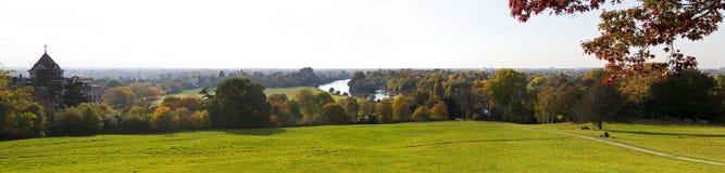 Vista dalla collina di Richmond immagini stock libere da diritti