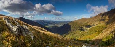 Vista dalla cresta Fotografia Stock Libera da Diritti