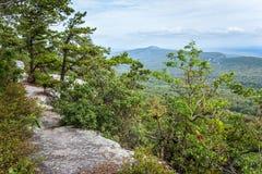 Vista dalla cresta Fotografie Stock