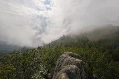 Vista dalla cresta grande Taganay Fotografia Stock Libera da Diritti