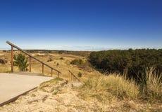 Vista dalla duna Fotografia Stock Libera da Diritti