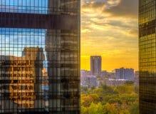 Vista dalla finestra Immagini Stock