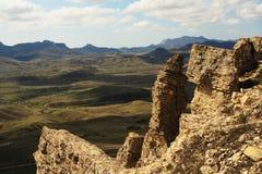 Vista dalla montagna Immagine Stock Libera da Diritti