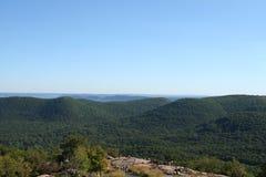 Vista dalla montagna dell'orso Fotografia Stock