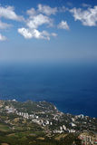 Vista dalla montagna di Ai-Pétri Immagine Stock Libera da Diritti