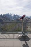 Vista dalla montagna di Schilthorn Fotografia Stock Libera da Diritti