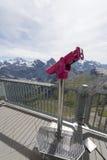 Vista dalla montagna di Schilthorn Immagini Stock