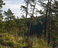 Vista dalla montagna Eleon Fotografie Stock Libere da Diritti