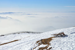 Alpe Svizzera di Rigi Immagini Stock