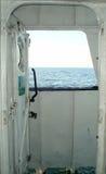 Vista dalla nave Fotografia Stock Libera da Diritti