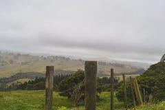 Vista dalla parte superiore della montagna immagini stock
