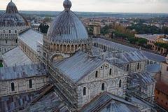 Vista dalla parte superiore della torretta di Pisa Fotografia Stock