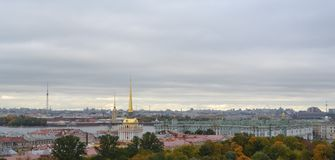 Vista dalla parte superiore St Petersburg fotografie stock
