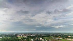 Vista dalla provincia di Nan del tempio di WatPrathatkaonoi, lasso di tempo video d archivio