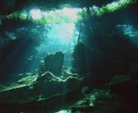 Vista dalla regione sottoterra Fotografia Stock Libera da Diritti