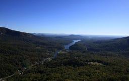 Vista dalla roccia del camino Fotografia Stock