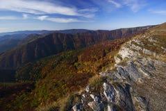 Vista dalla roccia di Majerova Skala Fotografia Stock