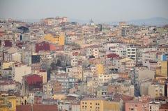 Vista dalla torre di Galata Fotografie Stock