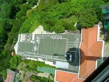 Vista dalla torretta del cielo a Sentosa Fotografia Stock Libera da Diritti