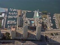 Vista dalla torretta del CN Fotografia Stock Libera da Diritti