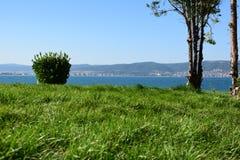 Vista dalla vecchia città Nessebar Fotografie Stock Libere da Diritti