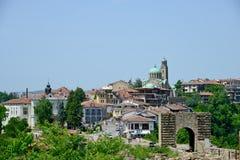 Vista dalla vecchia città Veliko Tarnovo Immagine Stock