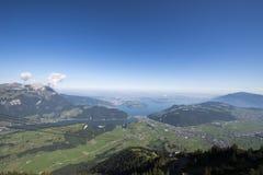Vista dallo Stanserhorn Immagini Stock