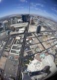 Vista dallo Stratophere Immagini Stock