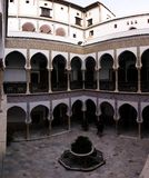 Vista a Dar Mustapha Pacha Palace, Casbah de Argel, Argélia fotos de stock