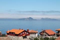 Vista das ilhas abandonadas Imagens de Stock