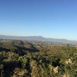 Vista das montanhas fotografia de stock royalty free