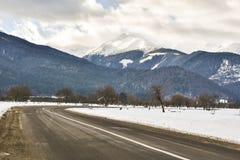 Vista das montanhas Foto de Stock