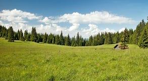 Vista das montanhas de Choc imagem de stock royalty free